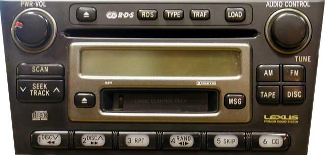 Штатная магнитола для Lexus 16819 фото