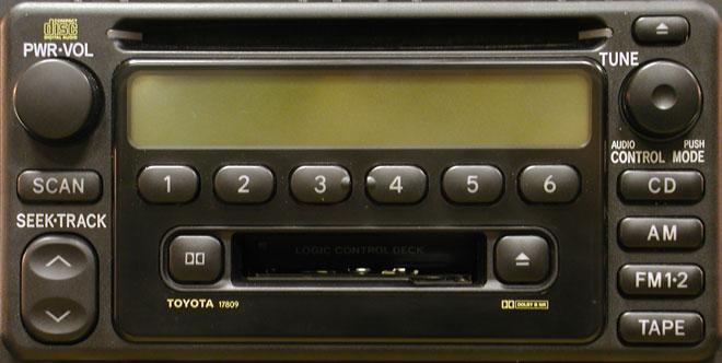 Штатная магнитола для Lexus 17809 фото