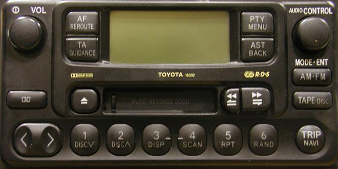 Штатная магнитола для Lexus 18302 фото