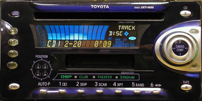 Штатная магнитола для Toyota 35802 фото