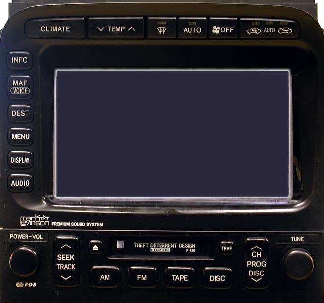 Штатная магнитола для Lexus P1720 фото