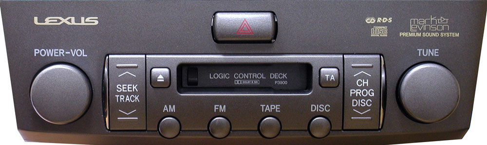 Штатная магнитола для Lexus P3900 фото