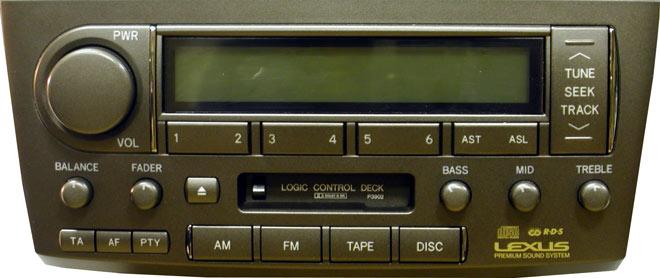 Штатная магнитола для Lexus P3902 фото
