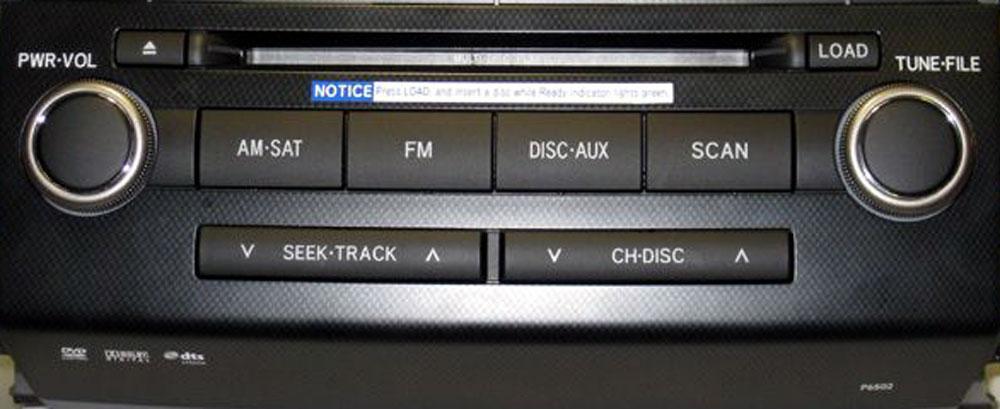 Штатная магнитола для Lexus P6502, Тип В фото
