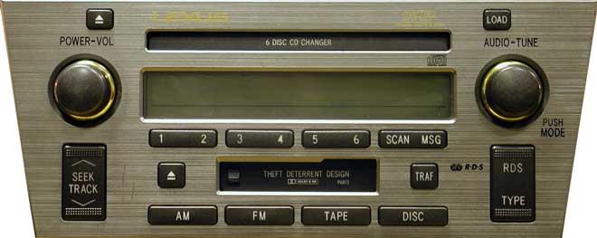 Штатная магнитола для Lexus P6813 фото