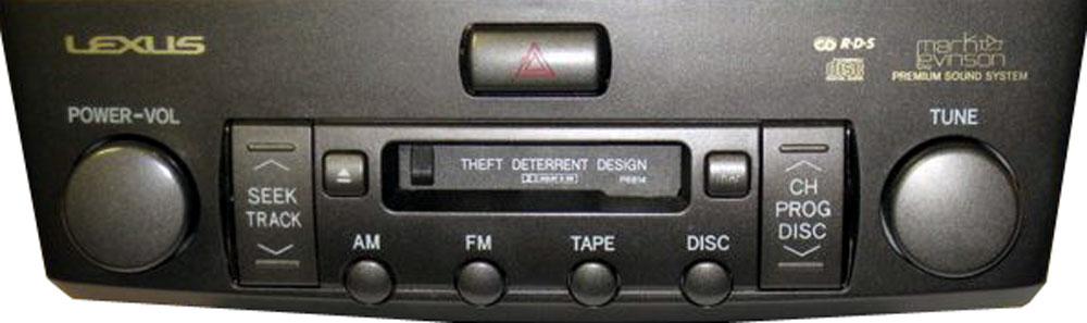 Штатная магнитола для Lexus P6814 фото