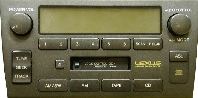 Штатная магнитола для Lexus P7508 фото