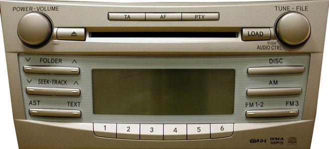 Штатная магнитола для Toyota 13803, 13829 фото