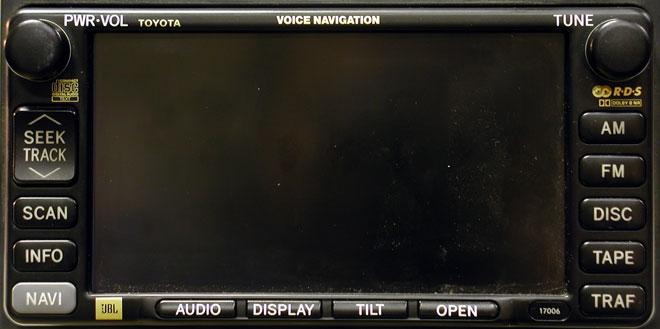 Штатная магнитола для Lexus 17006 фото