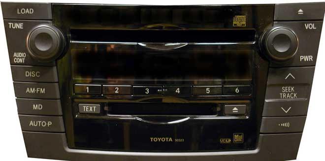 Штатная магнитола для Toyota 50323 фото