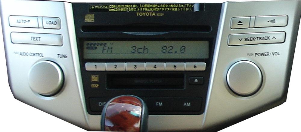 Штатная магнитола для Toyota 50339 фото
