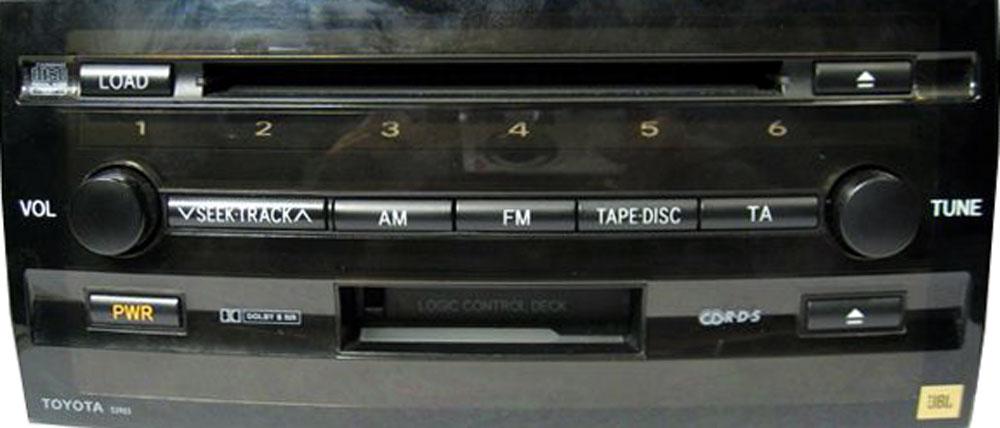 Штатная магнитола для Toyota 53810, 53812 фото