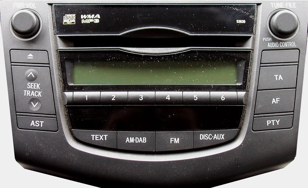 Штатная магнитола для Toyota 53830 фото