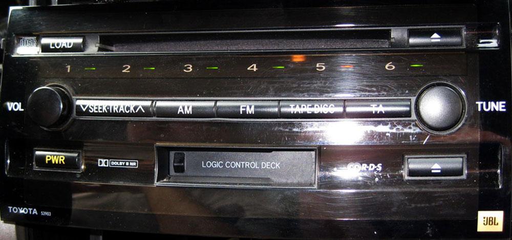 Штатная магнитола для Toyota 53903 фото