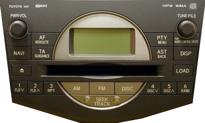Штатная магнитола для Toyota 58827 фото