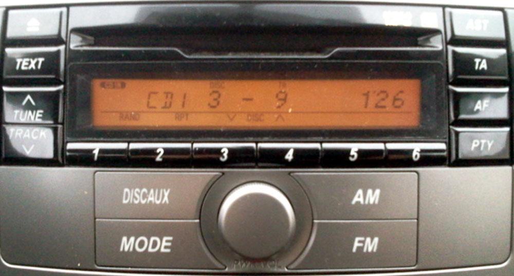 Штатная магнитола для Lexus 86180-B4021 фото