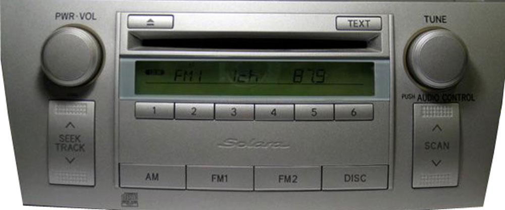 Штатная магнитола для Toyota A51806 фото