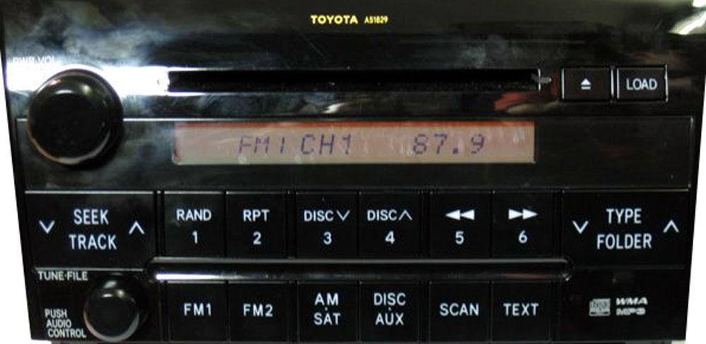 Штатная магнитола для Toyota A51829 фото