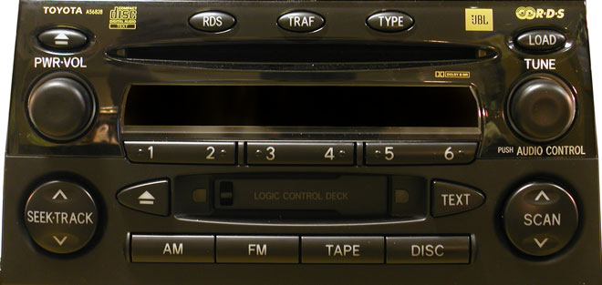 Штатная магнитола для Toyota A56828 фото
