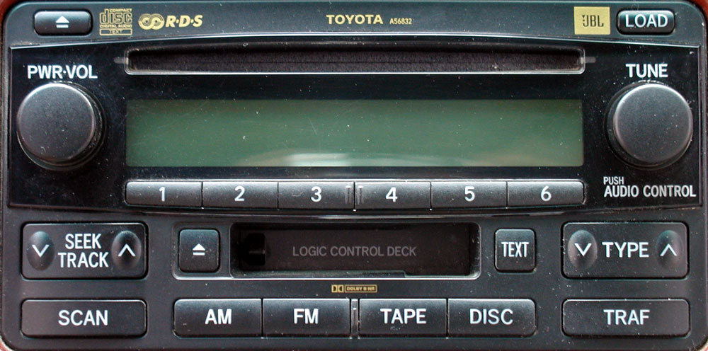 Штатная магнитола для Toyota A56832 фото