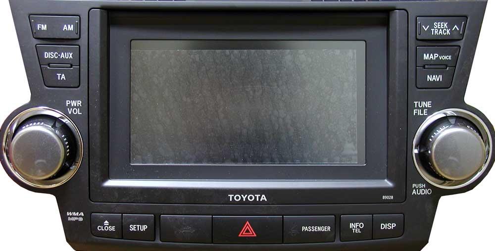 Штатная магнитола для Toyota B9028 фото