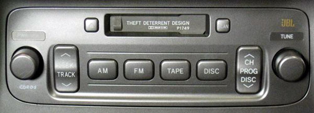 Штатная магнитола для Lexus P1749 фото