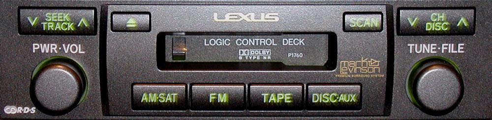 Штатная магнитола для Lexus P1760 фото