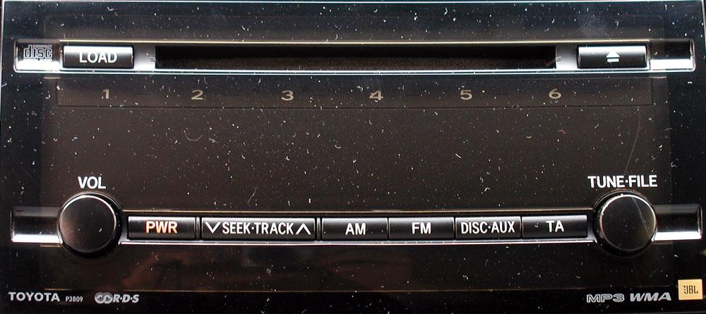 Штатная магнитола для Toyota P3809 фото