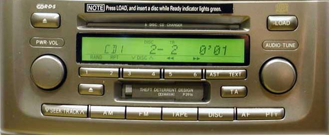 Штатная магнитола для Lexus P3916 фото