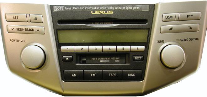 Штатная магнитола для Lexus P3918 фото