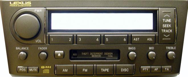 Штатная магнитола для Lexus P3926 фото