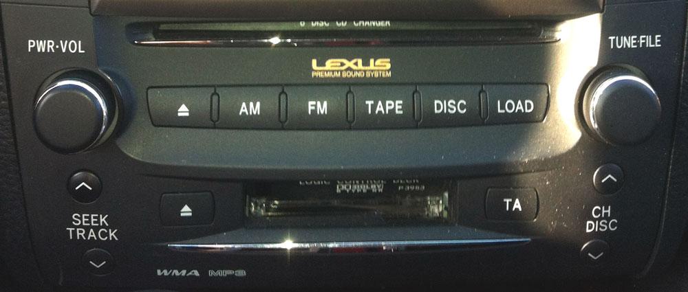 Штатная магнитола для Lexus P3953 фото