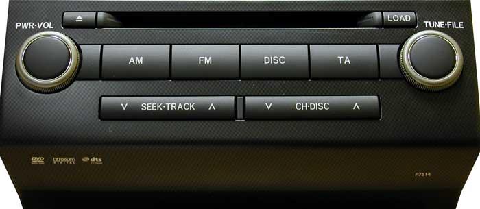 Штатная магнитола для Lexus P7514 фото
