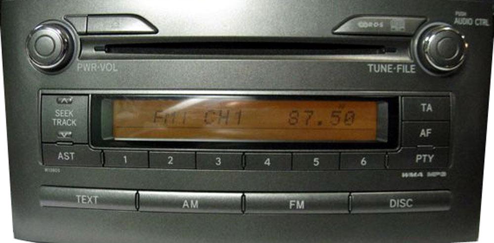Штатная магнитола для Lexus W13805 фото