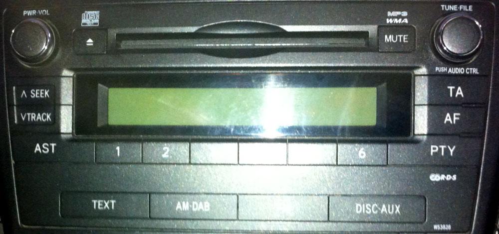 Штатная магнитола для Lexus W53828 фото