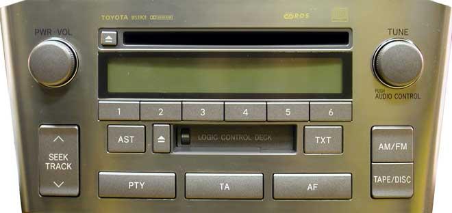 Штатная магнитола для Toyota W53900, W53901 фото