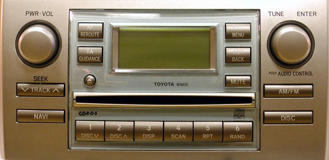 Штатная магнитола для Lexus W58810 фото