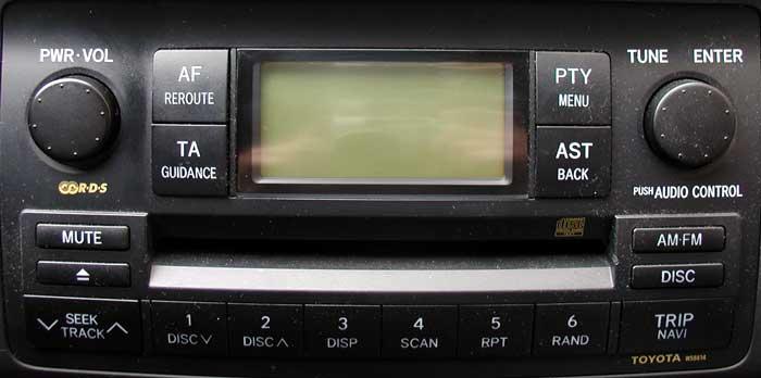 Штатная магнитола для Lexus W58814 фото