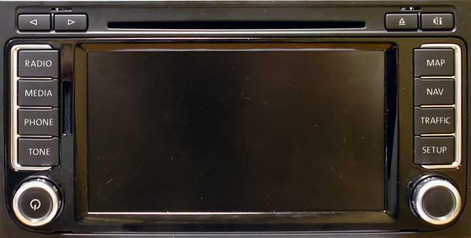Штатная магнитола для Volkswagwen 7L6 фото