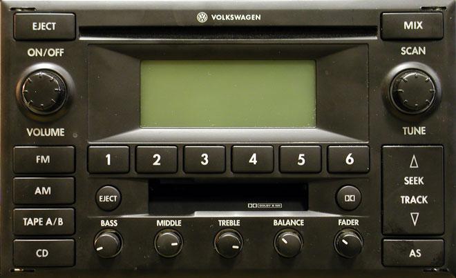 Штатная магнитола для Volkswagwen Premium 6 фото