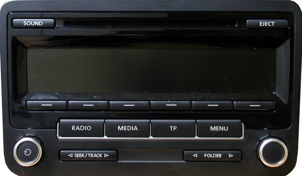 Штатная магнитола для Volkswagen RCD310 (Delphi) фото