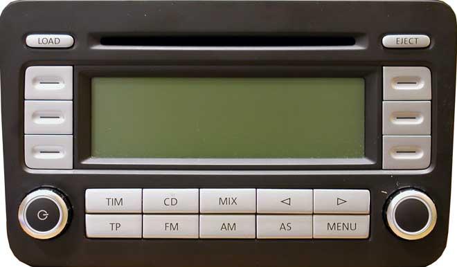 Штатная магнитола для Volkswagen RCD500 фото