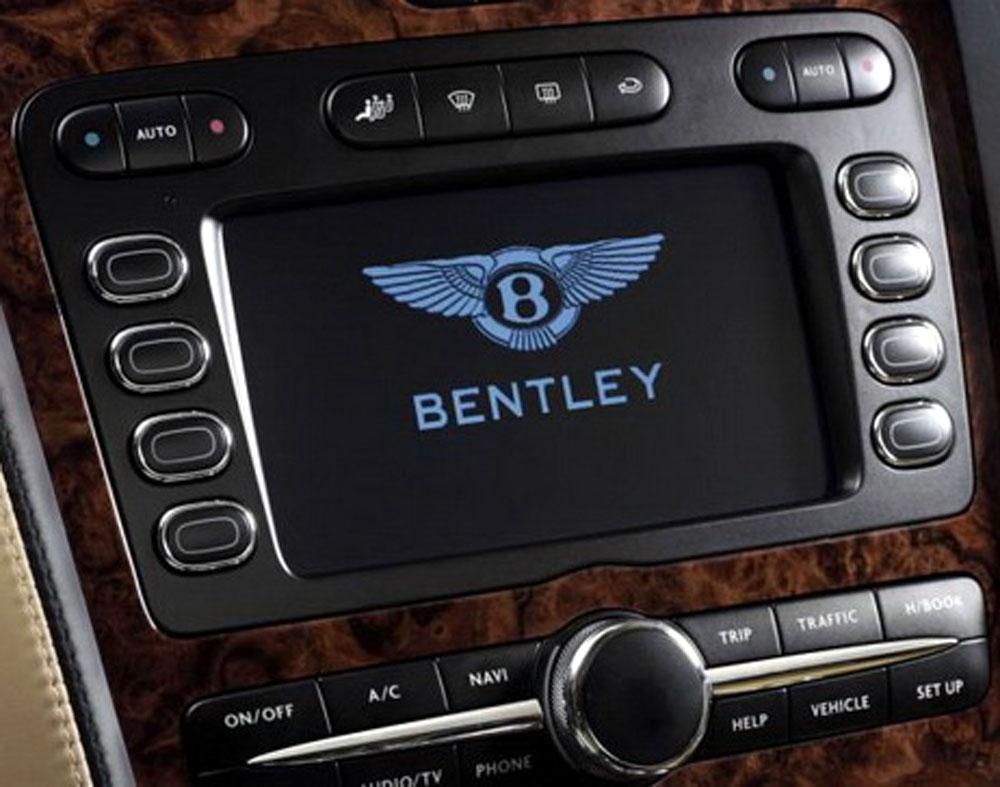 Штатная магнитола Bentley-continental фото