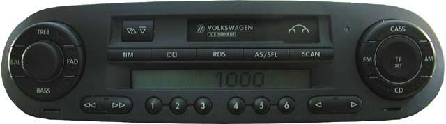 Штатная магнитола для Volkswagen New Beetle фото