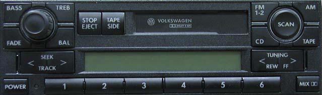 Штатная магнитола для Volkswagen Premium IV фото