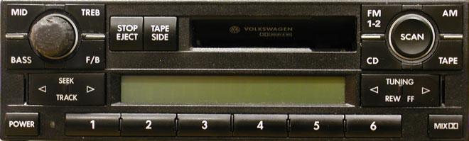 Штатная магнитола для Volkswagen Premium V  фото