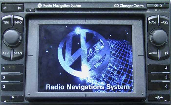 Штатная магнитола для Volkswagen RNS-1 фото