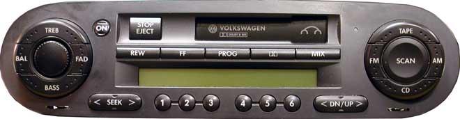 Штатная магнитола для Volkswagen Z9Z7  фото