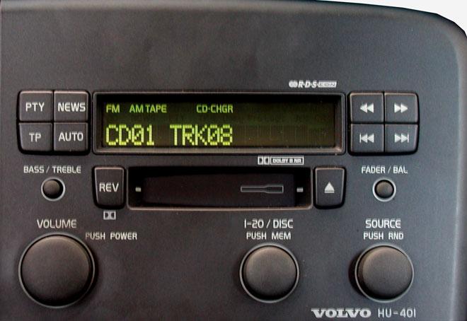 Штатная магнитола для  Volvo HU-401 фото