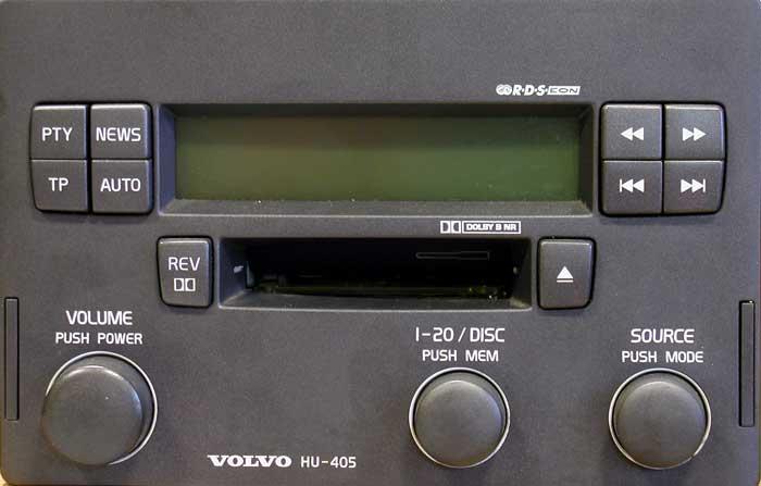 Штатная магнитола для  Volvo HU-405 фото